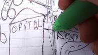 Inspirée par la découverte d'un petit insecte rouge, une enfant improvise l'histoire de celui-ci à l'aide d' un croquis. Il s'appelle Rouja, il va à la ville pour trouver du travail. Au travers de son récit imaginaire se dévoile les subtilités de l'ordre urbain et de l'organisation sociale à l'échelle d' un insecte. Maya et Bertrand Leduc [...]